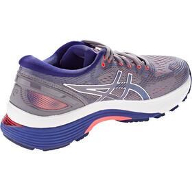 asics Gel-Nimbus 21 Shoes Women lavender grey/dive blue
